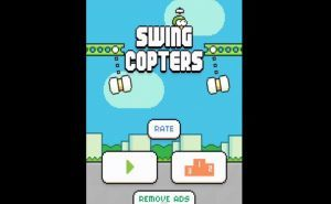 Swing Copters – a Flappy Bird Sequel