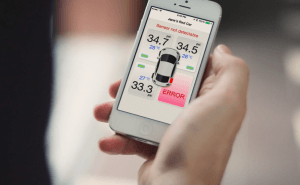 Fobo Tire: the First Bluetooth Tire Pressure Monitoring System