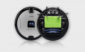 Autonomous vacuuming and home surveillance all-in-one device
