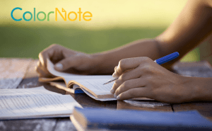 ColorNote: making friends with a new device