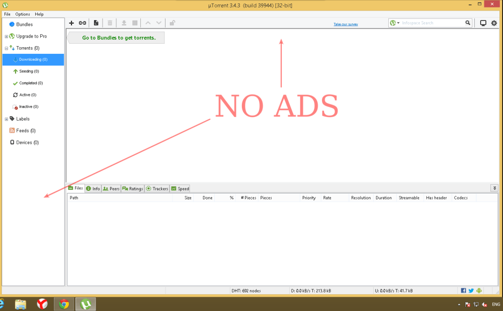 How To Turn Off Ads In Utorrent