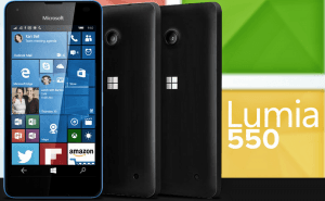 The $139 Lumia 550 smartphone goes on sale today