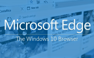 The latest Windows 10 update has improved Edge's security