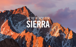 Update your Mac to OS Sierra