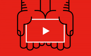 YouTube introduces a dark mode and a new logo