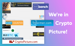 Informer.com is in CryptoPicture!