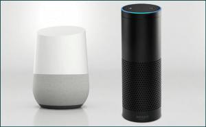 Choose between Google Home and Amazon Echo